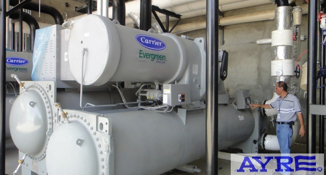 Chillers ecológicos R-134A